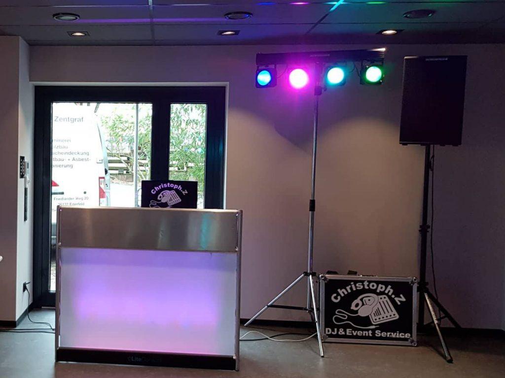 DJ Eventservice Aufkleber