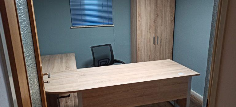 Das neu Büro – klein aber mein
